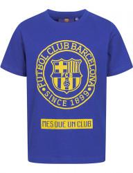 Detské bavlnené tričko FC Barcelona D7804