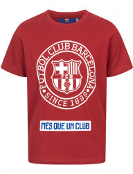 Detské pohodlné tričko FC Barcelona D7811