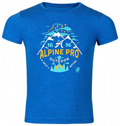 Detské štýlové tričko Alpine Pro K1669