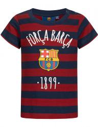 Detské štýlové tričko FC Barcelona D7791
