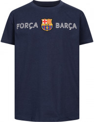 Detské tričko FC Barcelona Forca Barca FCB-3-343C D7760