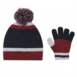 Detský set čiapky a rukavíc Crafted J6362