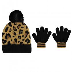 Detský set čiapky a rukavíc Crafted J6363