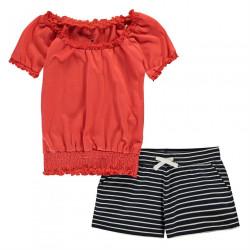 Dievčenské krátke pyžamo Crafted J4895