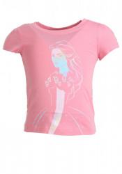 Dievčenské ružové Disney tričko Reebok W0805