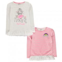 Dievčenské set tričiek Crafted H8295