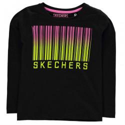 Dievčenské štýlové tričko Skechers H7523