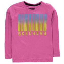 Dievčenské štýlové tričko Skechers H7524