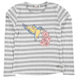Dievčenské tričko s dlhým rukávom Lee Cooper H6579