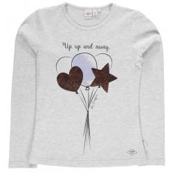 a580222dc923 Dievčenské tričko s dlhým rukávom Lee Cooper H8050