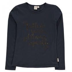 Dievčenské tričko s dlhým rukávom Lee Cooper J5657