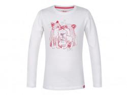 Dievčenské tričko s dlhým rukávom Loap G1002