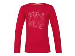 Dievčenské tričko s dlhým rukávom Loap G1003
