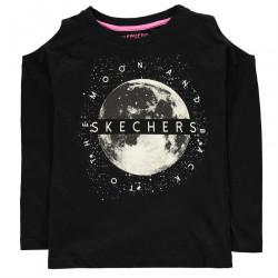 Dievčenské tričko Skechers J5539