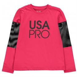 Dievčenské tričko USA Pro H7519