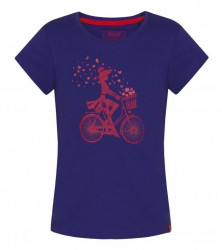 Dievčenské voĺnočasové tričko Loap G1325