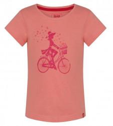 Dievčenské voĺnočasové tričko Loap G1326
