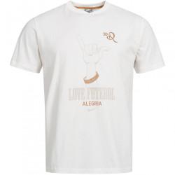 Juniorské voĺnočasové tričko Nike D1648