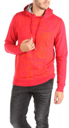 Pánska červená mikina Desigual W0916
