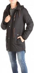Pánska čierna zimná bunda Eight2Nine W0779