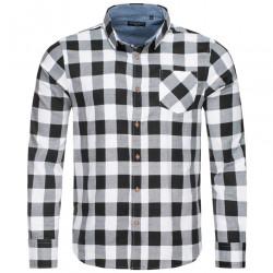 Pánska flanelová košeĺa BRAVE SOUL D1519