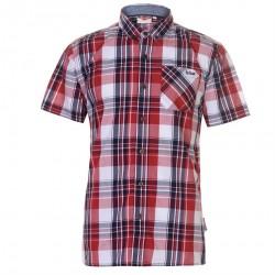 Pánska károvaná košeĺa Lee Cooper H3889