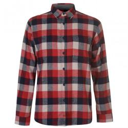 Pánska kockovaná košeĺa Pierre Cardin H8017