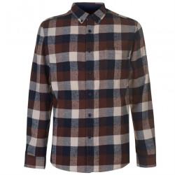 Pánska kockovaná košeĺa Pierre Cardin H8018