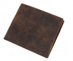 Pánska kožená peňaženka Real Italien Leather E1563