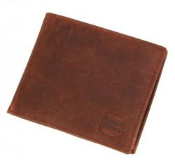 Pánska kožená peňaženka Real Italien Leather E1564