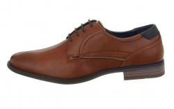 Pánska kožená spoločenská obuv Q5883