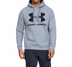 Pánska mikina Under Armour RIVAL FLEECE SPORTSTYLE LOGO HOODIE E4024