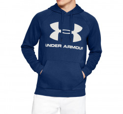 Pánska mikina Under Armour RIVAL FLEECE SPORTSTYLE LOGO HOODIE E4025