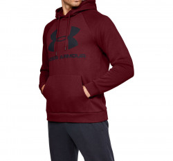 Pánska mikina Under Armour RIVAL FLEECE SPORTSTYLE LOGO HOODIE E4026
