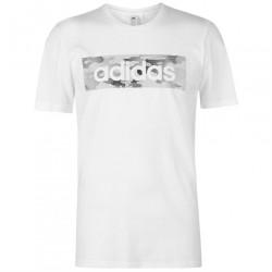 Pánske bavlnené tričko Adidas J5739
