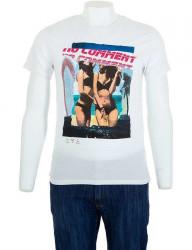 Pánske bavlnené tričko Glo Story I8153