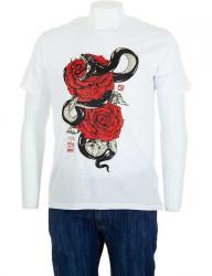 Pánske bavlnené tričko Glo Story I8155