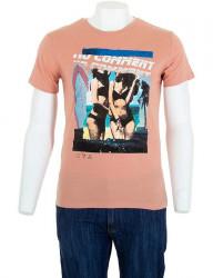 Pánske bavlnené tričko Glo Story I8156