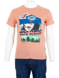 Pánske bavlnené tričko Glo Story I8157