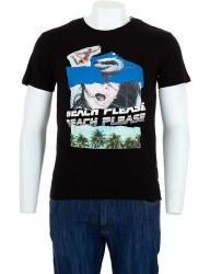 Pánske bavlnené tričko Glo Story I8159