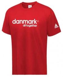Pánske červené tričko Adidas D0460