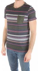 Pánske farebné tričko Tom Tailor W2165