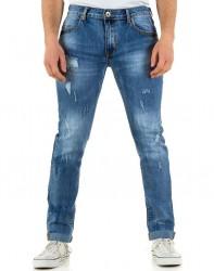 Pánske jeansové nohavice Herren Jeans Q0283