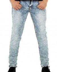 Pánske jeansové nohavice Q6335 #1