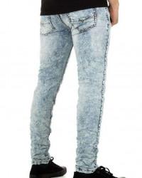 Pánske jeansové nohavice Q6335 #2