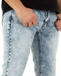 Pánske jeansové nohavice Q6335 #3
