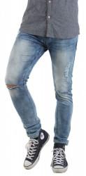 Pánske jeansové nohavice Sublevel X8575