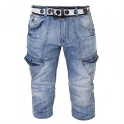 Pánske jeansové šortky No Fear H8470