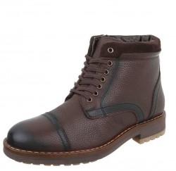 Pánske kožené topánky Coolwalk Q0085
