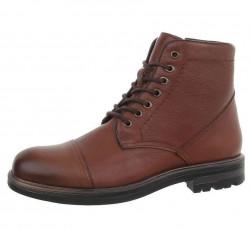 Pánske kožené topánky Q3785